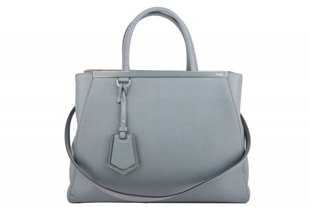 Fendi 2Jours Tote Bag Blue