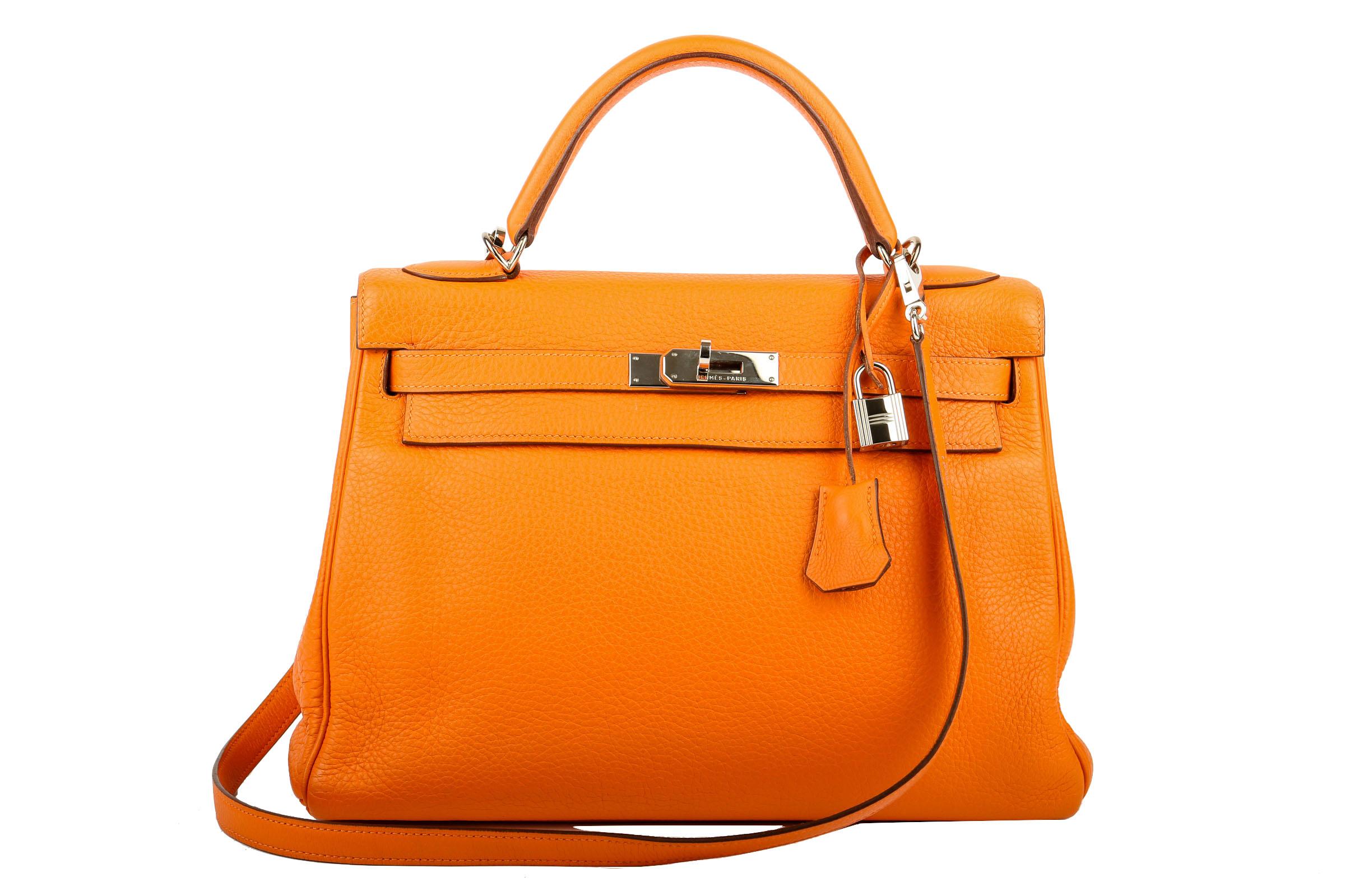 20e090b0d69d8 Vorschau  Hermès Kelly Bag 32 Togo Orange
