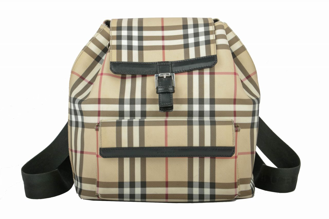 Burberry Rucksack Home Check Small