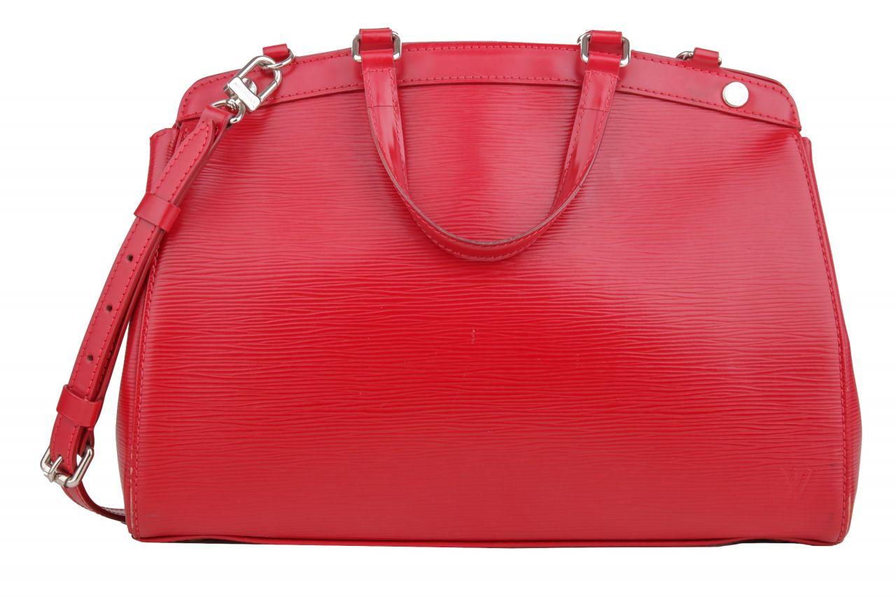 Louis Vuitton Brea MM Epi Leder Rot