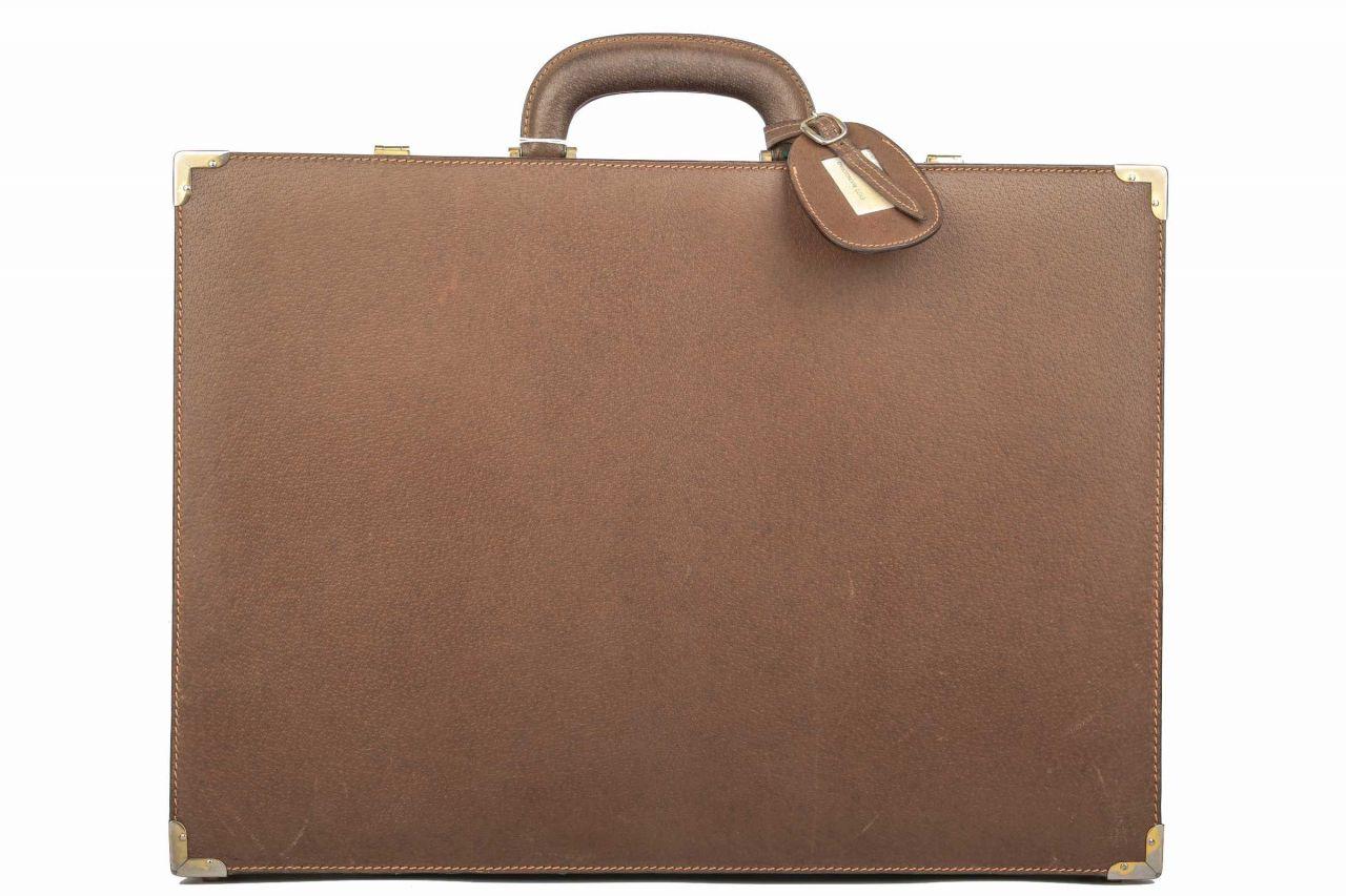 Gucci Aktenkoffer Vintage Braun