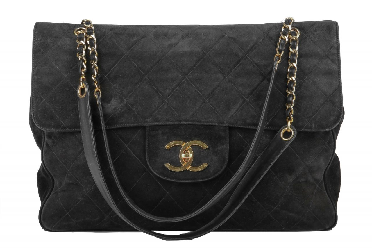 Chanel Timeless Classic Flap Bag XL Black