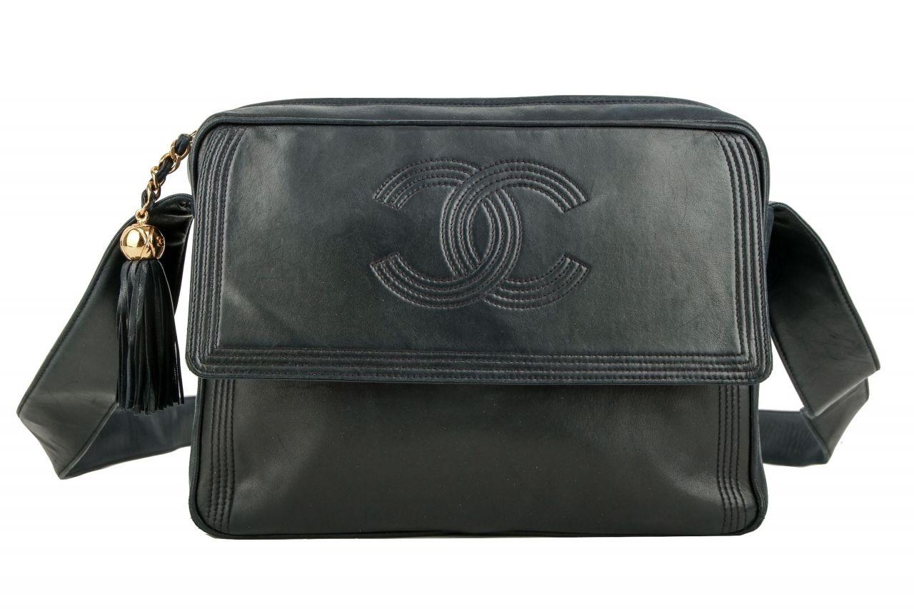 Chanel Shoulder Bag Blue