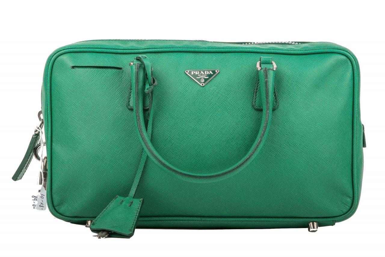 Prada Saffiano Bag Grün