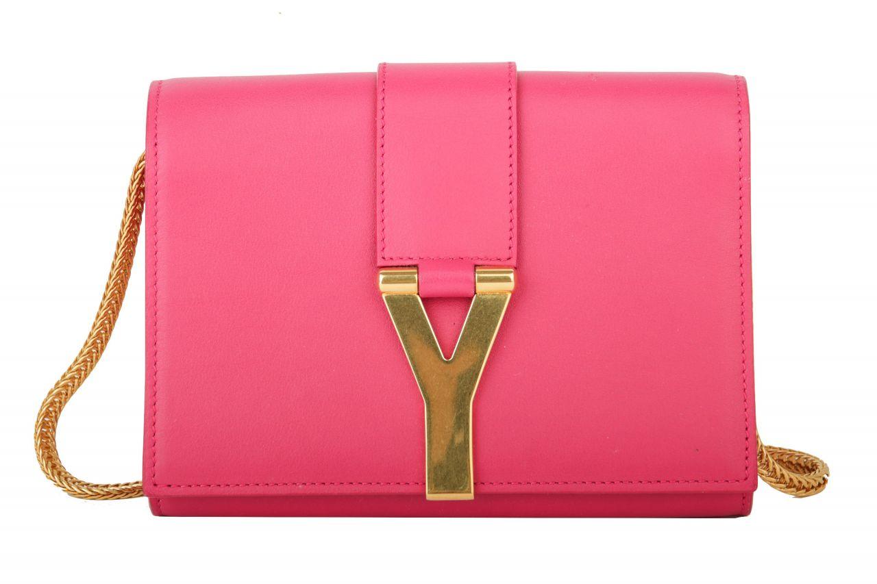 Saint Laurent Mini Crossbody Bag Pink