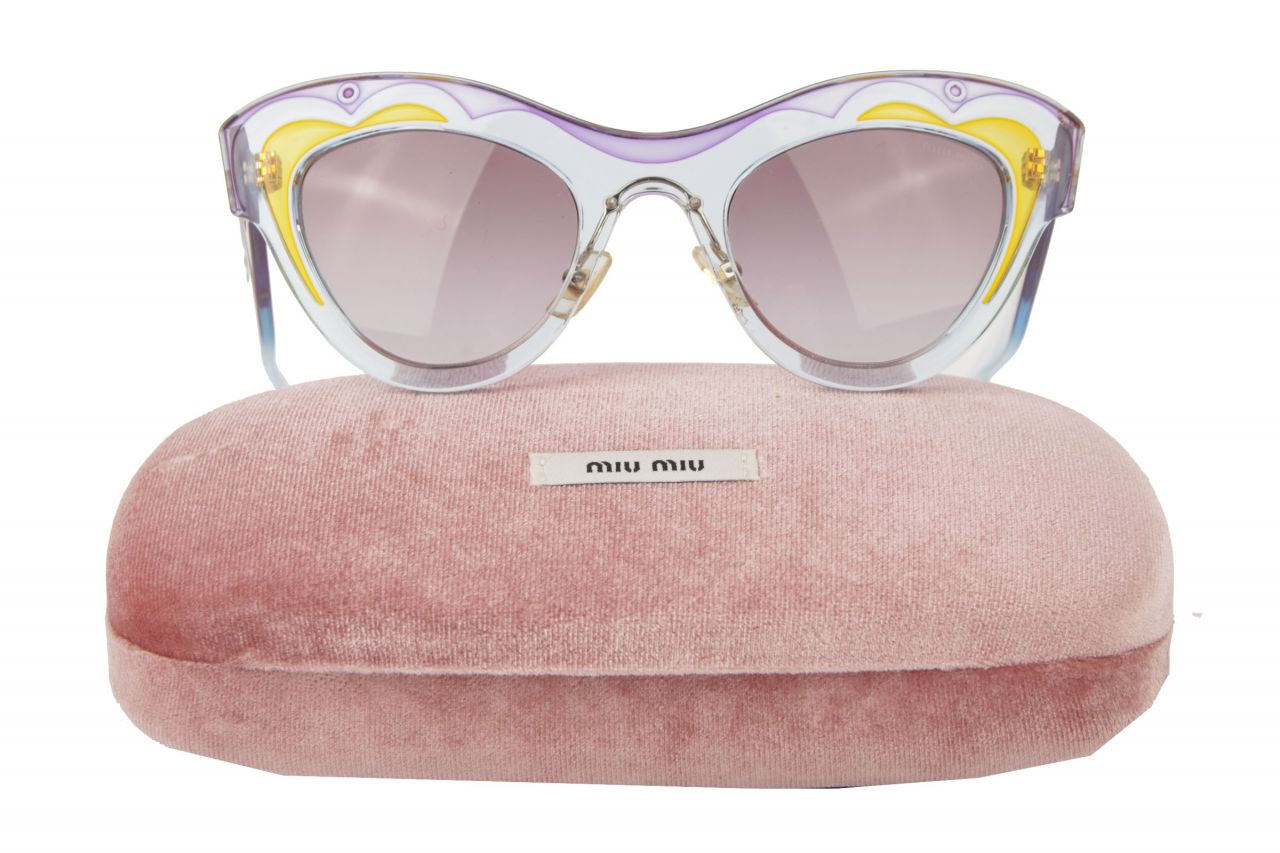 Miu Miu Sonnenbrille Cat Eye Sonnenbrille SMU 07P