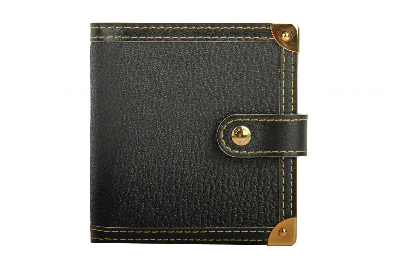 Louis Vuitton Suhali Wallet Black