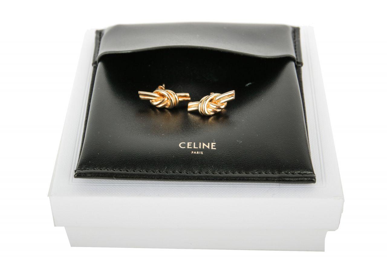 Céline Knot Ohrringe gold