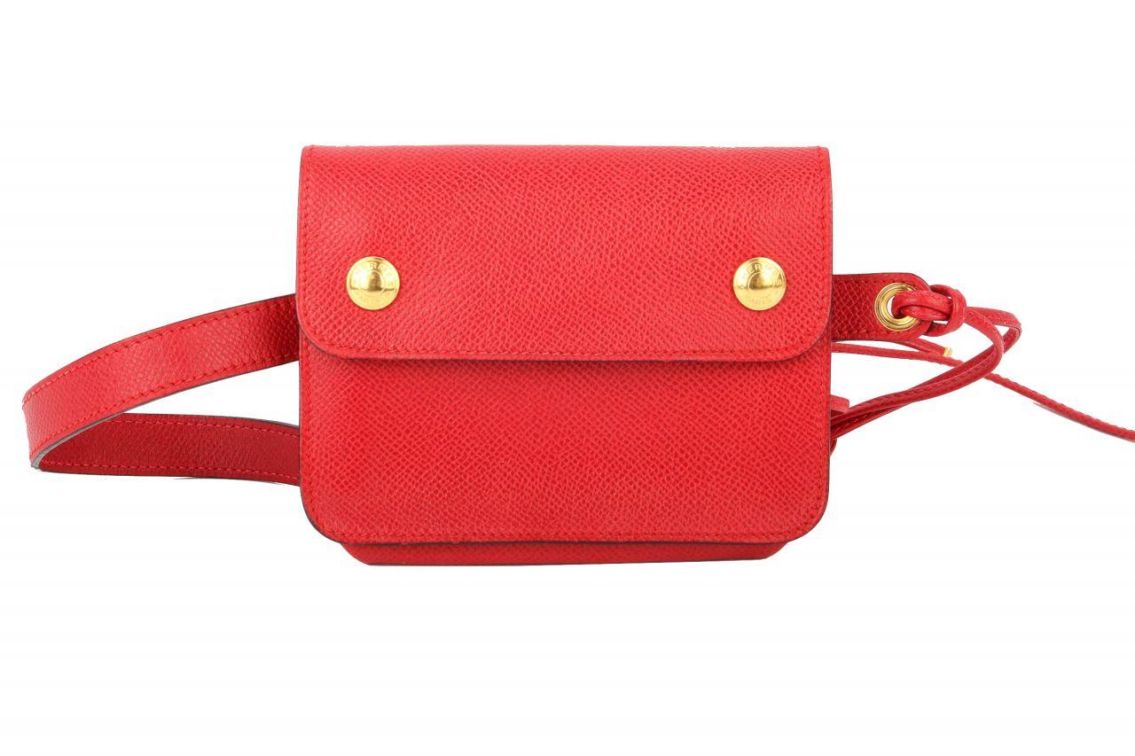 Hermès Belt Bag Togo Leather Rouge Piment