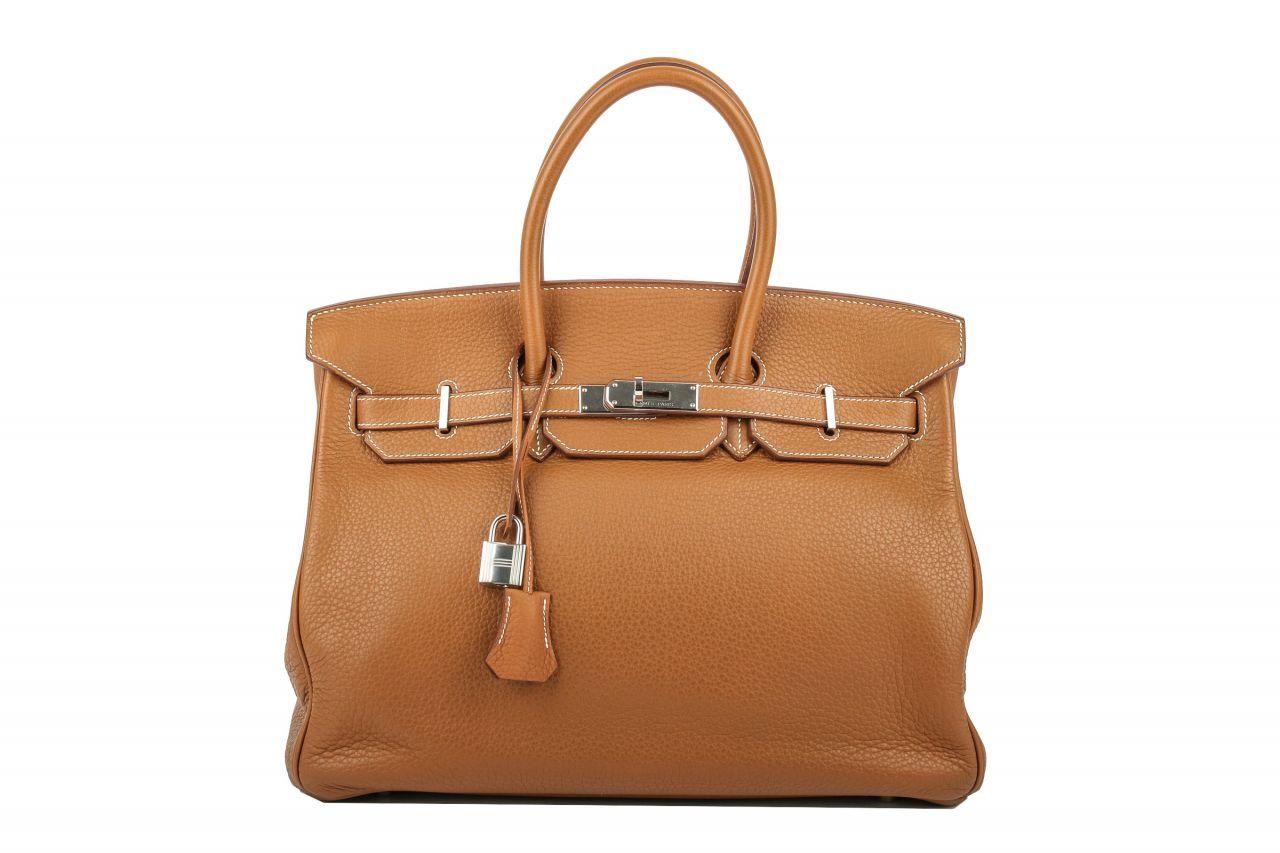 Hermès Birkin 35 Togo Cognac