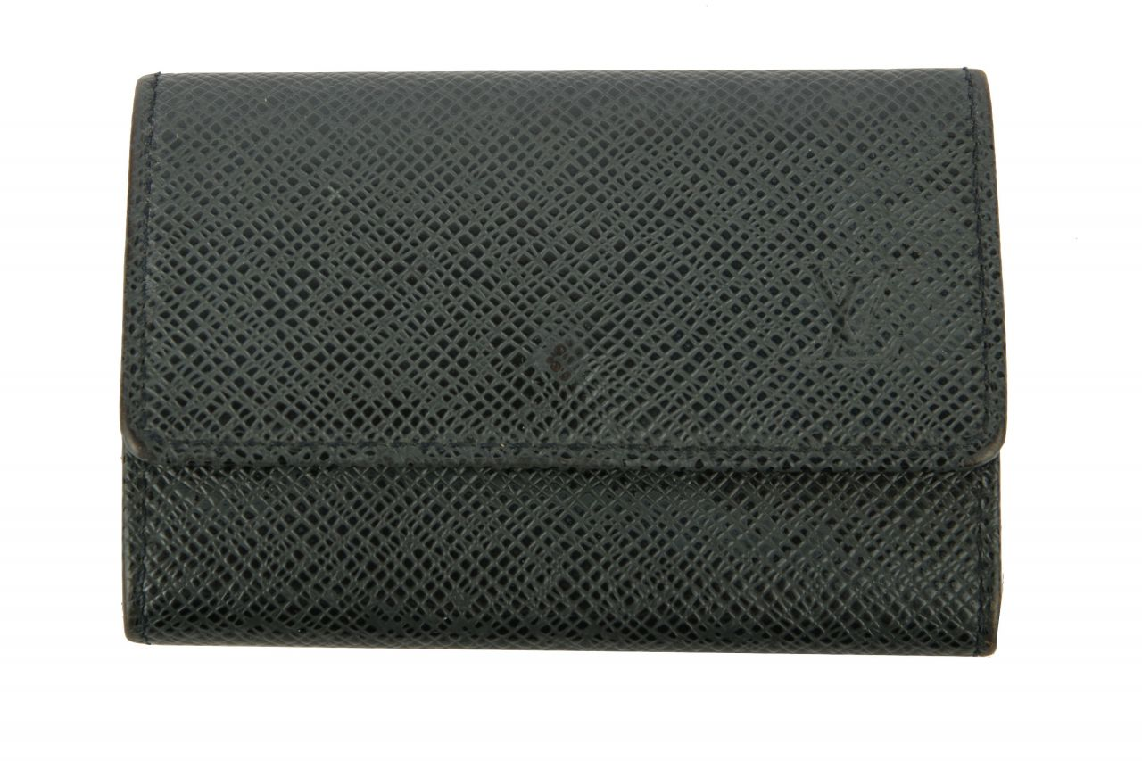 Louis Vuitton Schlüsseletui Taiga Black