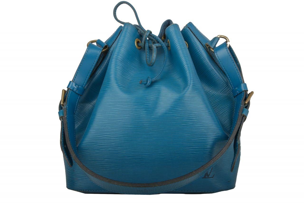 Louis Vuitton Sac Noé Petite Epi Blau