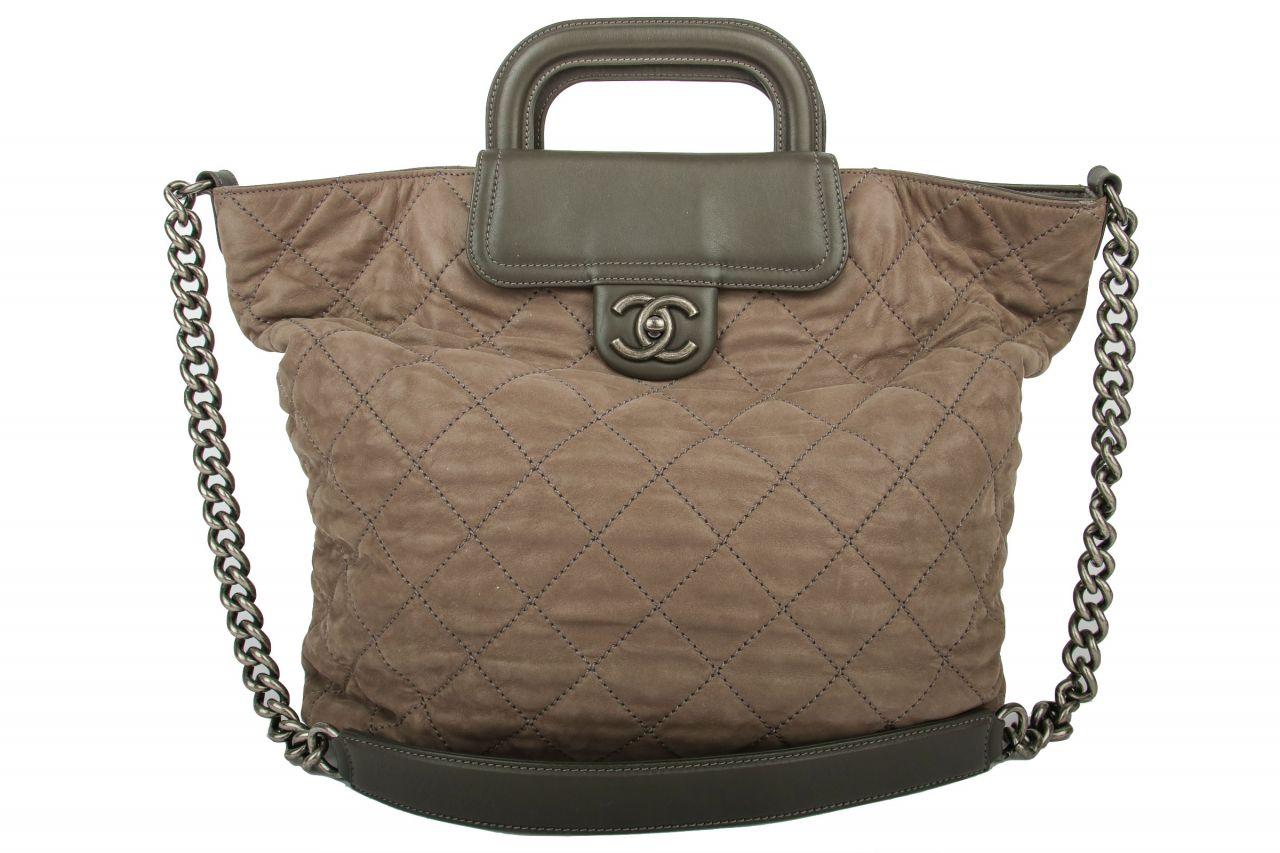 Chanel Shopper Grey