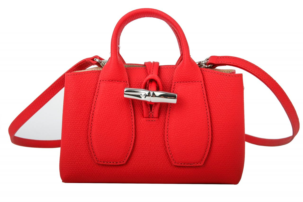 "Longchamp Roseau ""S"" Rot"