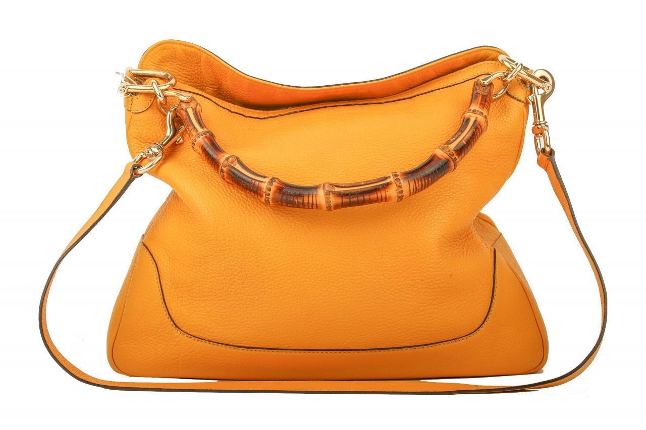 Gucci Bamboo Tasche gelb