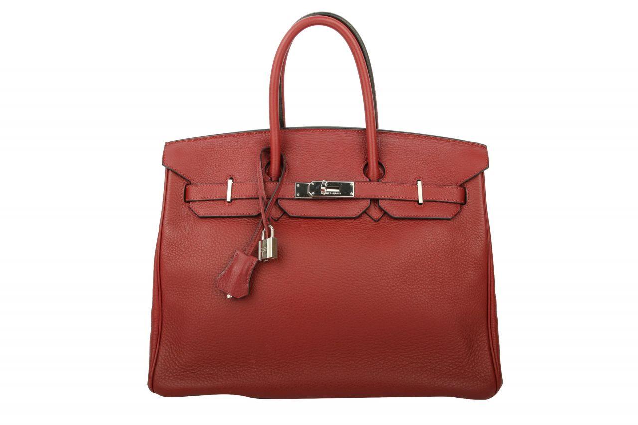 Hermès Birkin 35 Rouge Casaque