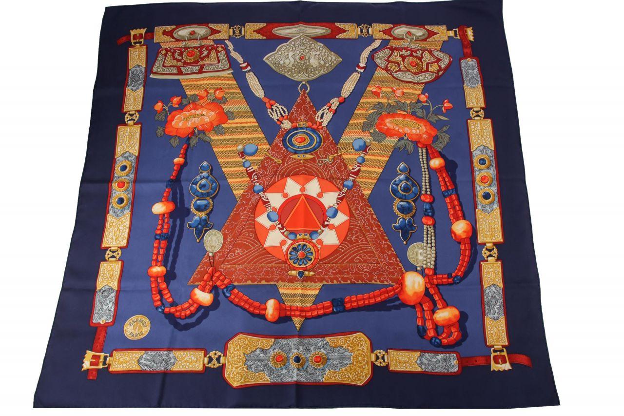 "Hermès Carré ""Tibet"" 90x90cm"
