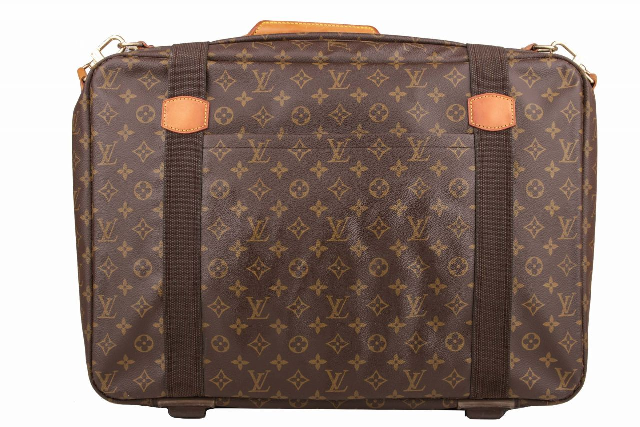 Louis Vuitton Satellite Koffer mit Schulterriemen Monogram Canvas