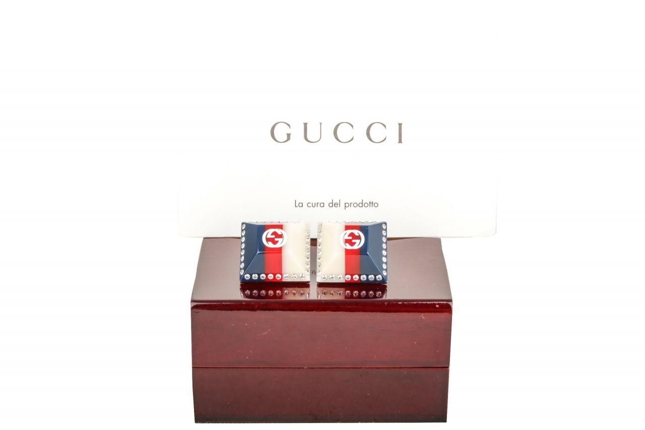 Gucci Ohrringe mit Steinen