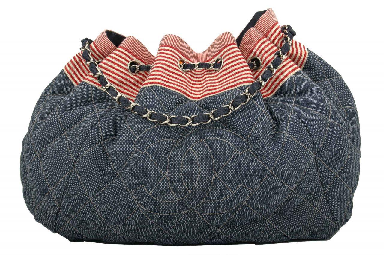 Chanel Tote Bag Denim