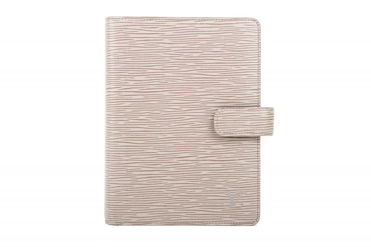 Louis Vuitton Agenda Functionnel MM Epi Leder Taupe