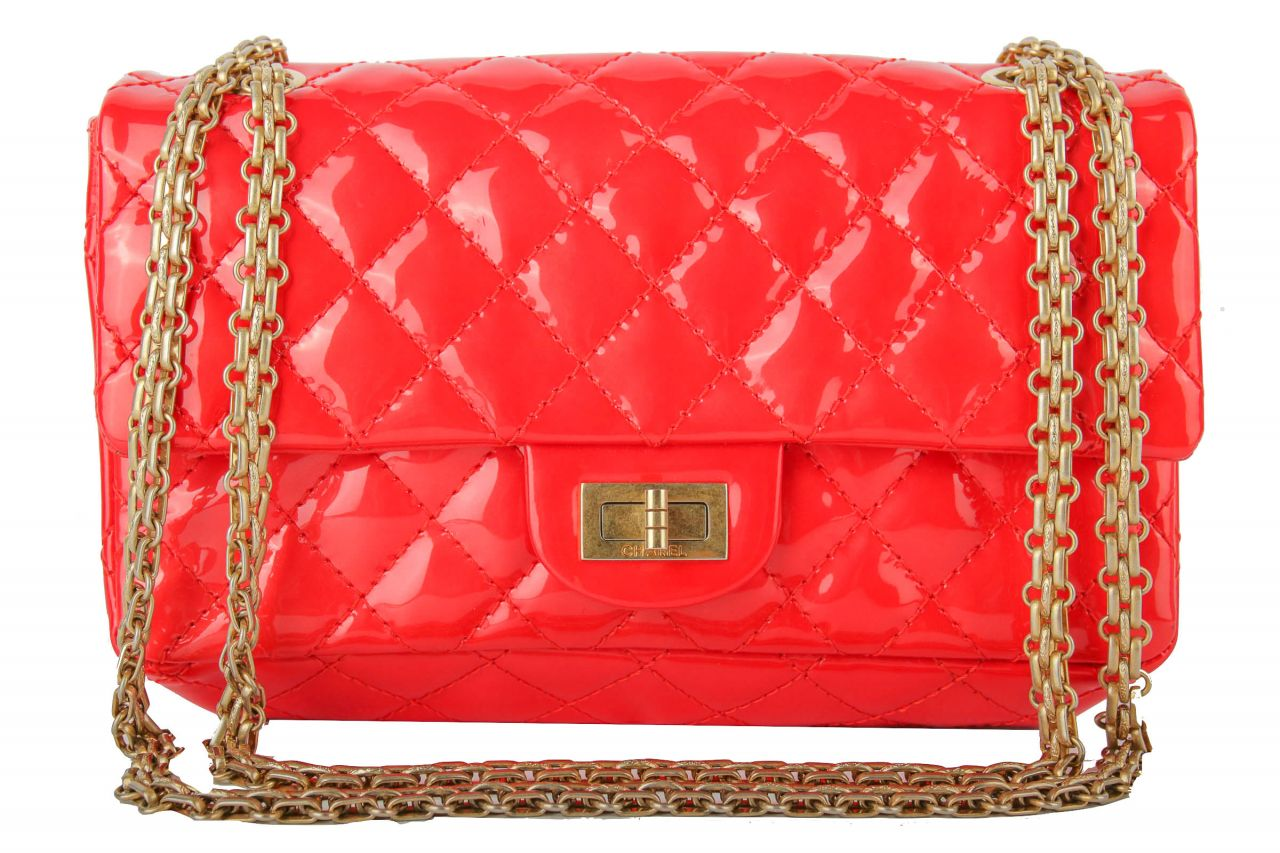 Chanel 2.55 Reissue Small Lack Koralle