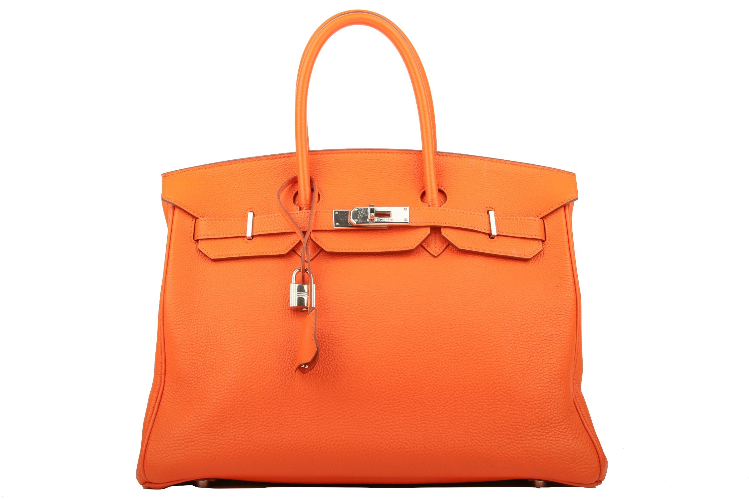 30e65ed7ed Hermès Birkin 35 Orange Togo leather | Luxussachen.com