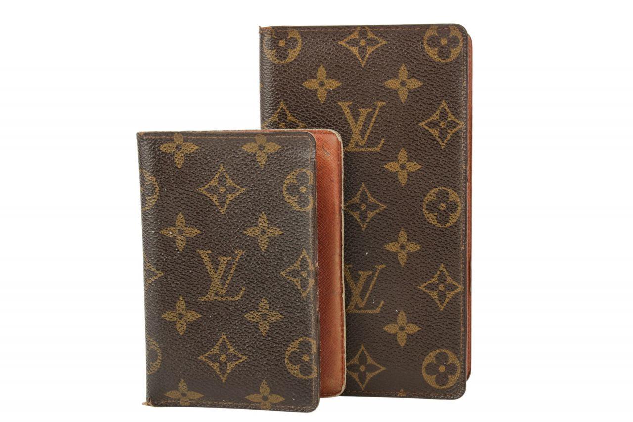 Louis Vuitton Dokumentenmappen Set Monogram Canvas