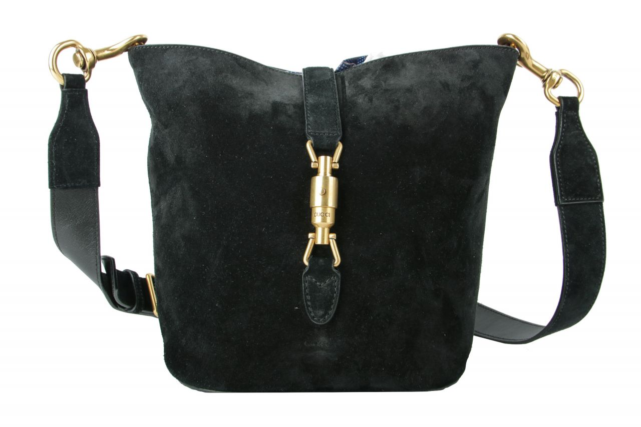 Gucci Crossbody Jackie Bag Black