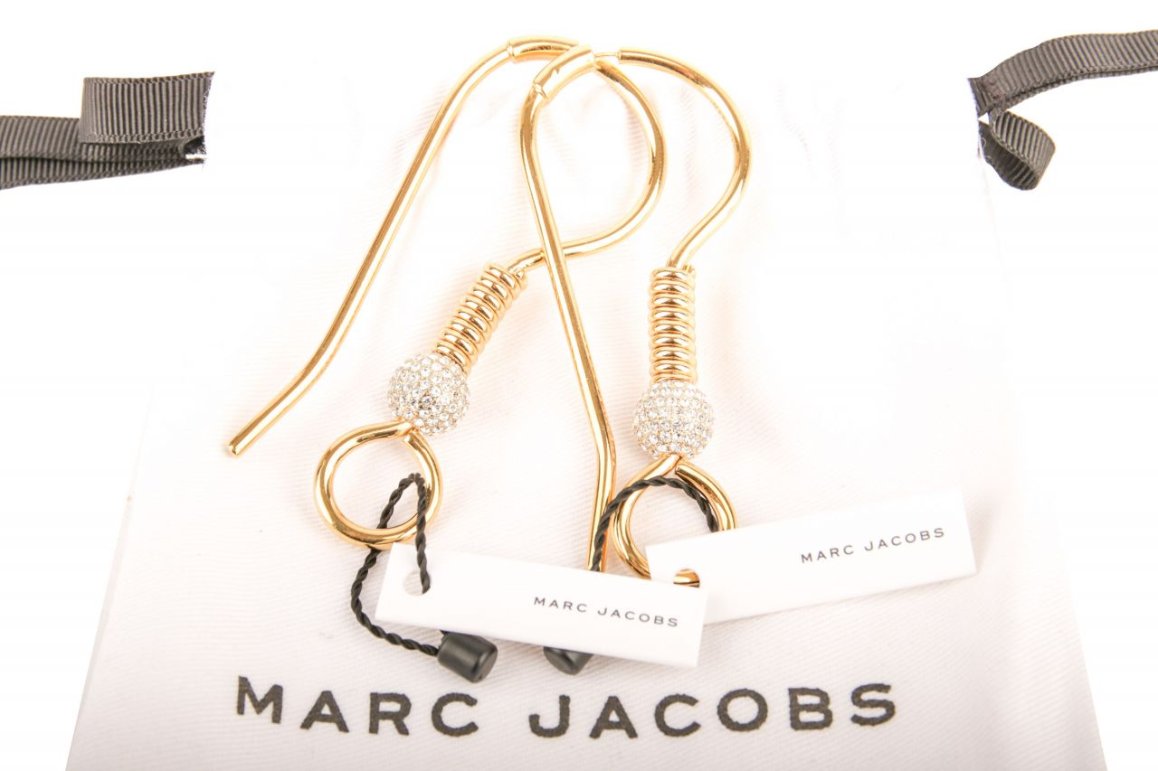 Marc Jacobs Ohrringe Gold