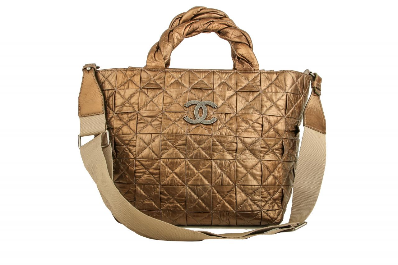 Chanel Shopper Metallic