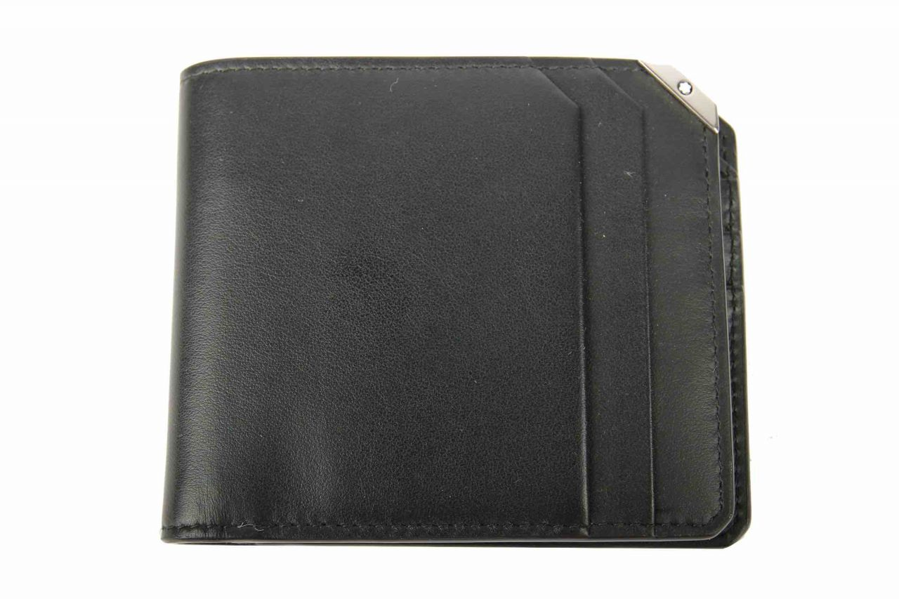 Mont Blanc Wallet Black
