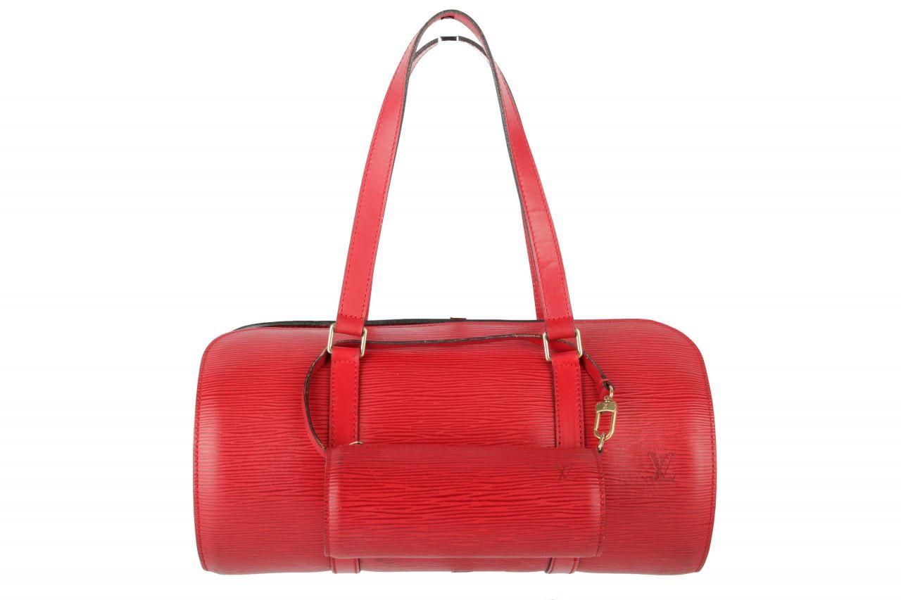 Louis Vuitton Slovo Epi Leather Bag Red