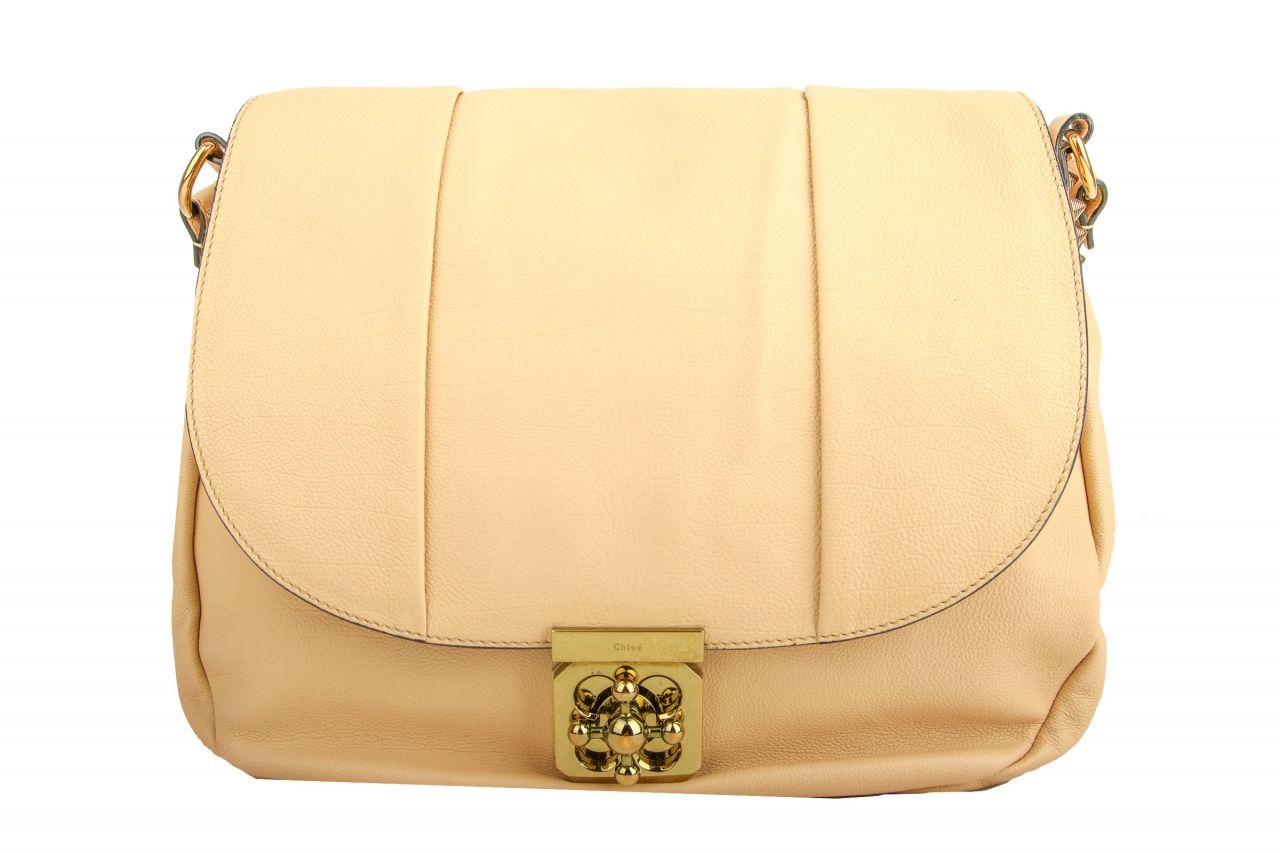 Chloé Elsie Shoulder Bag Beige