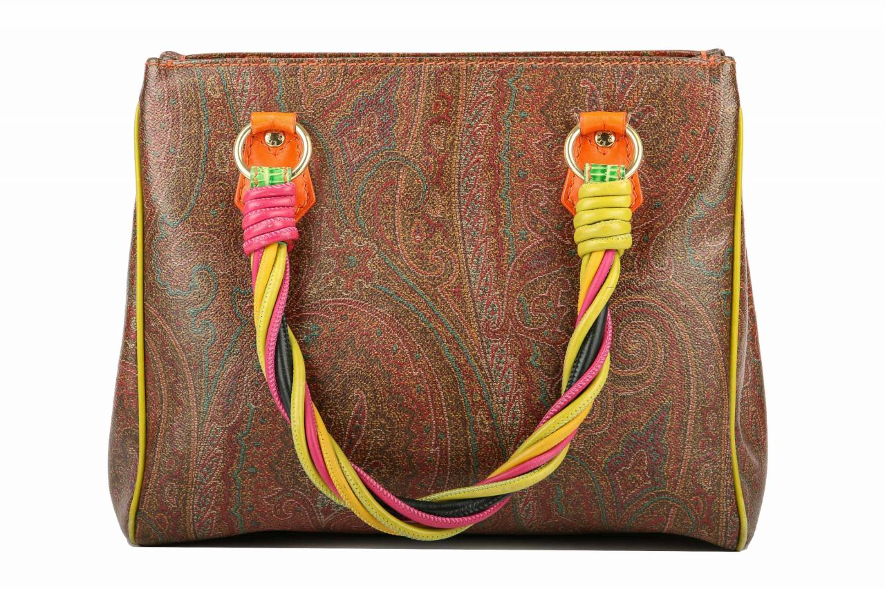 Etro Handtasche Paisley Bunt