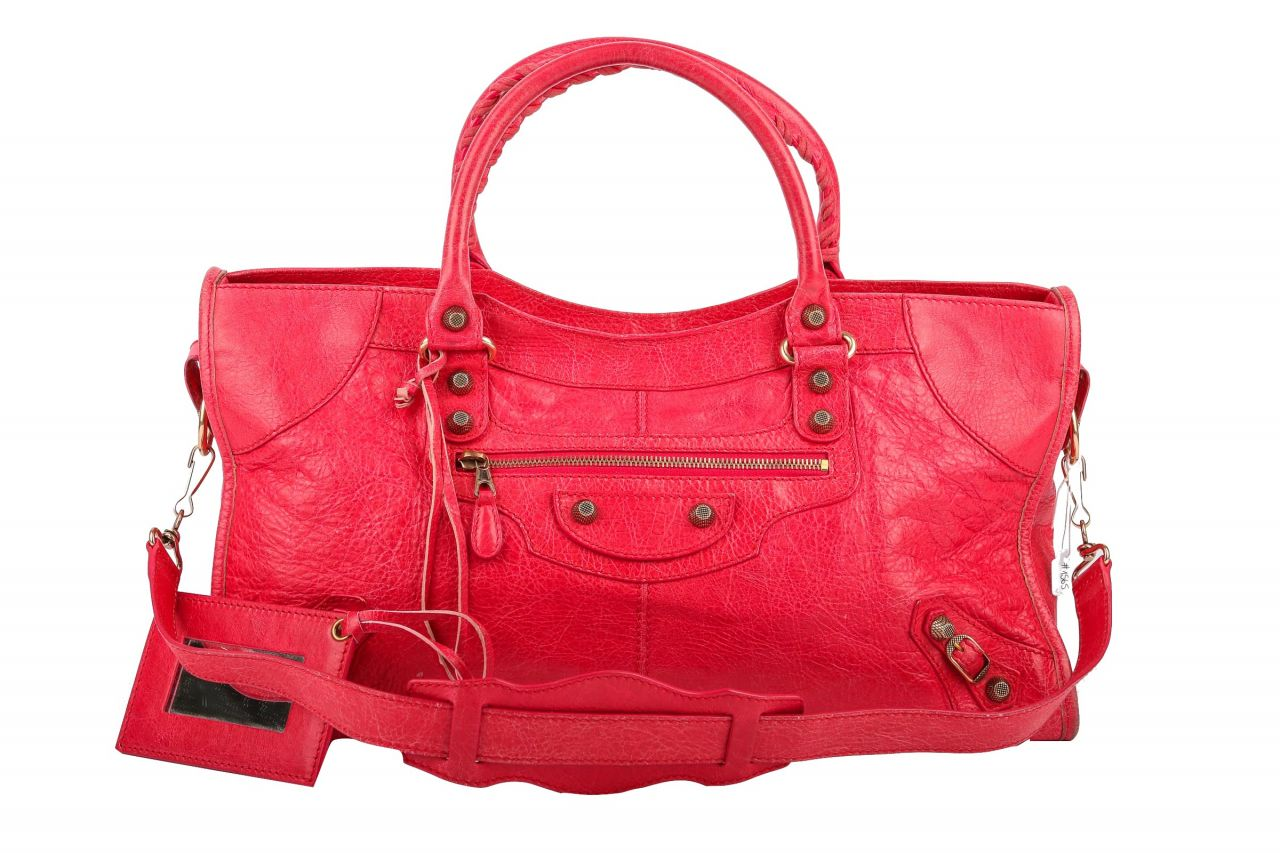 Balenciaga City Classic Bag Medium Rot