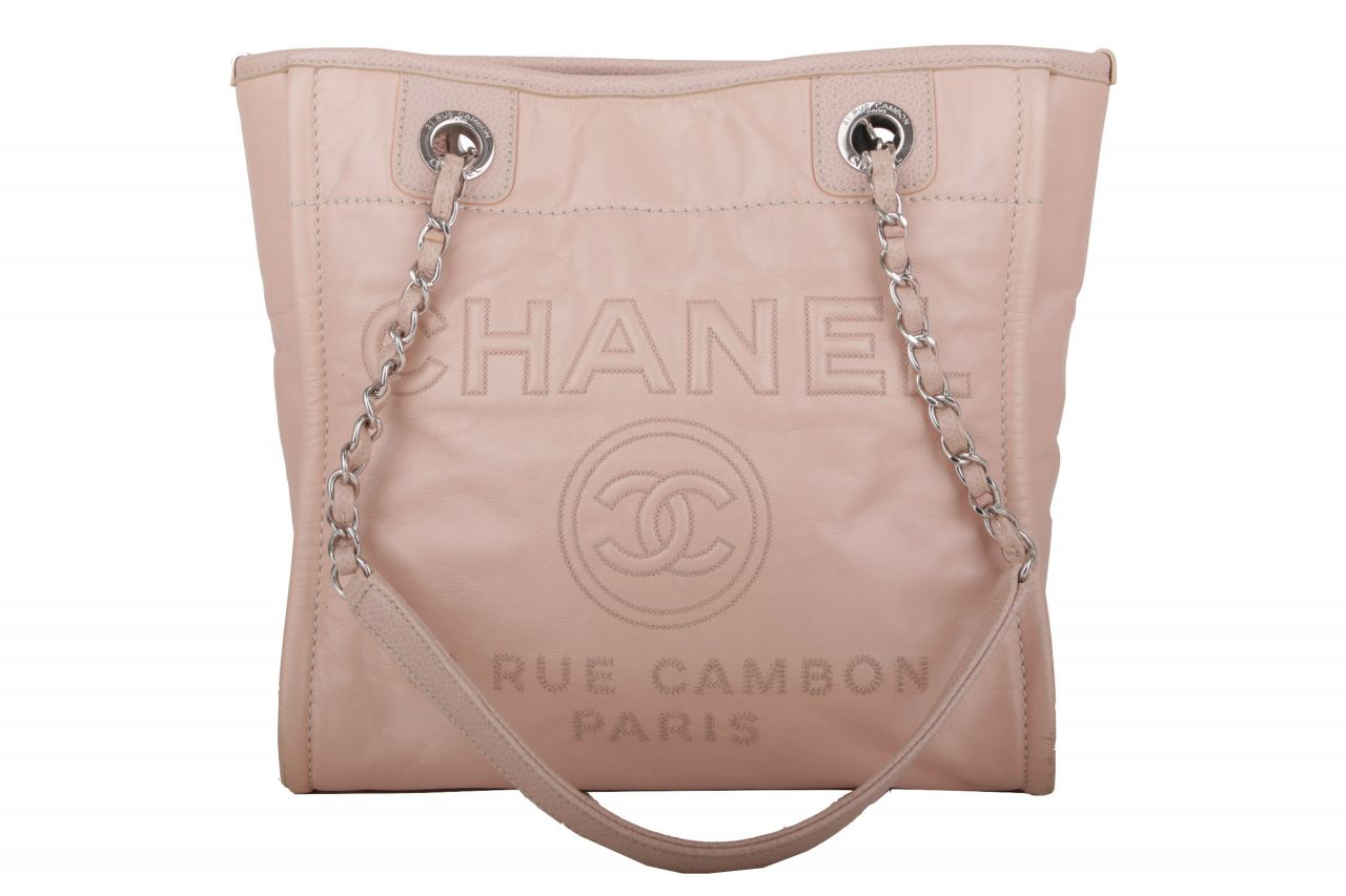 Chanel Rue Cambon Shopper Rosé