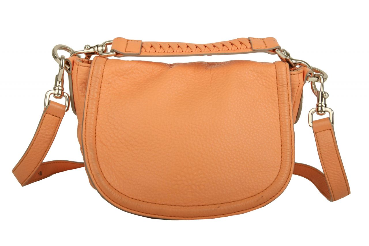 Mulberry Small Effie Satchel Bag Apricot