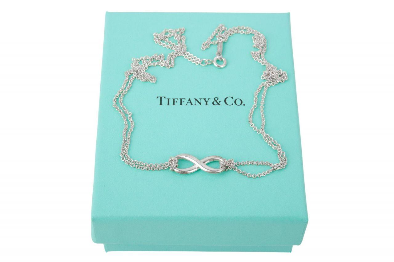 Tiffany & Co. Infinity Kette Silber