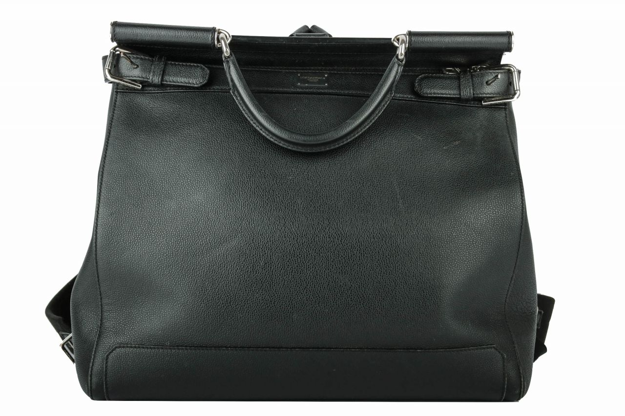Dolce & Gabbana Bagpack Leather Black