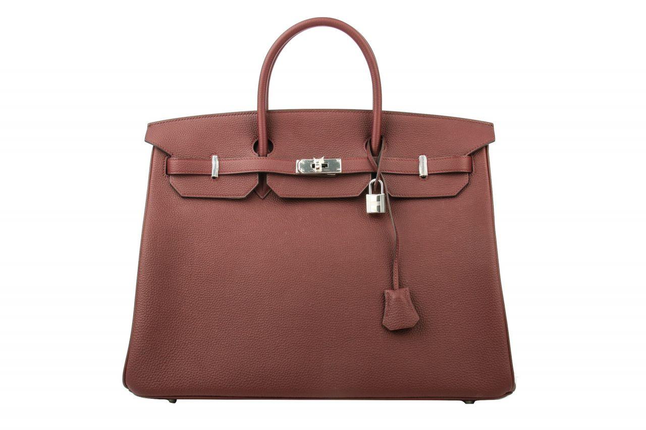 Hermès Birkin 40 Bordeaux Togo Leder