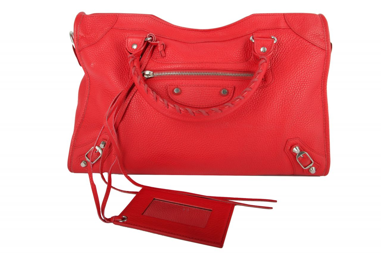 Balenciaga Classic City Bag Red