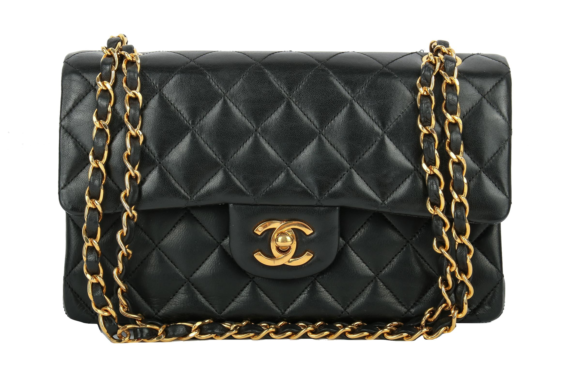 624c286e4a2b9 Chanel Timeless Classic Double Flap Small Black