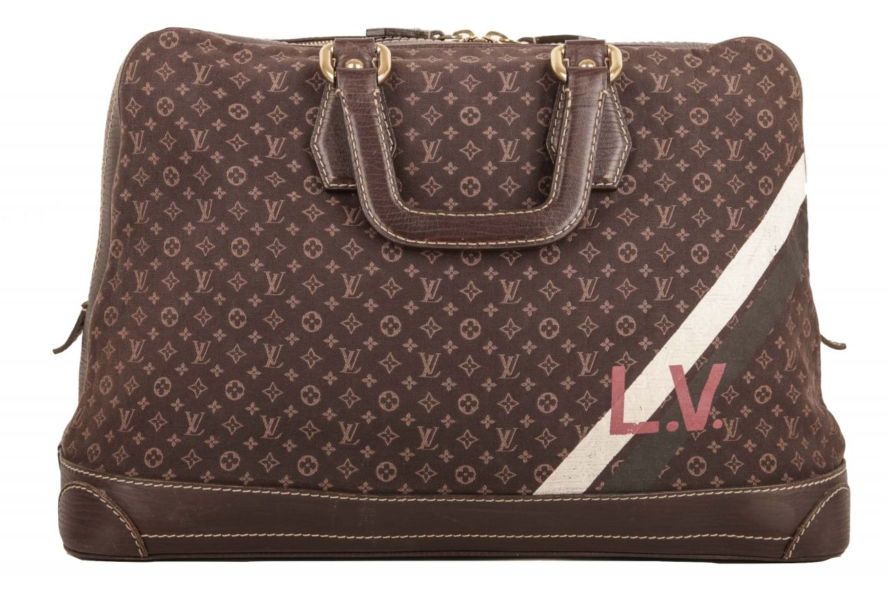 Louis Vuitton Isfahan Carryall Mini Lin Braun