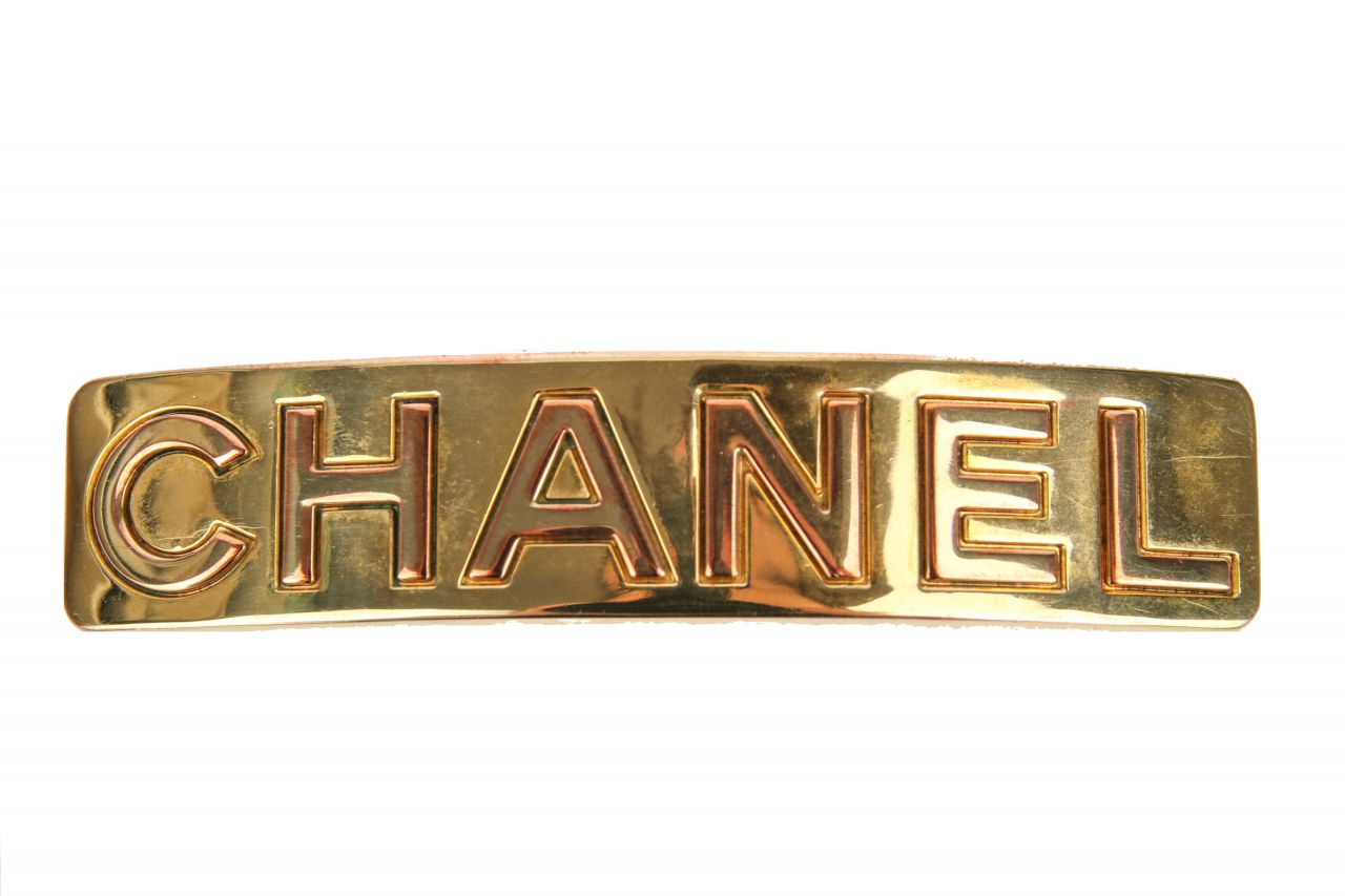 Chanel Haarspange Gold