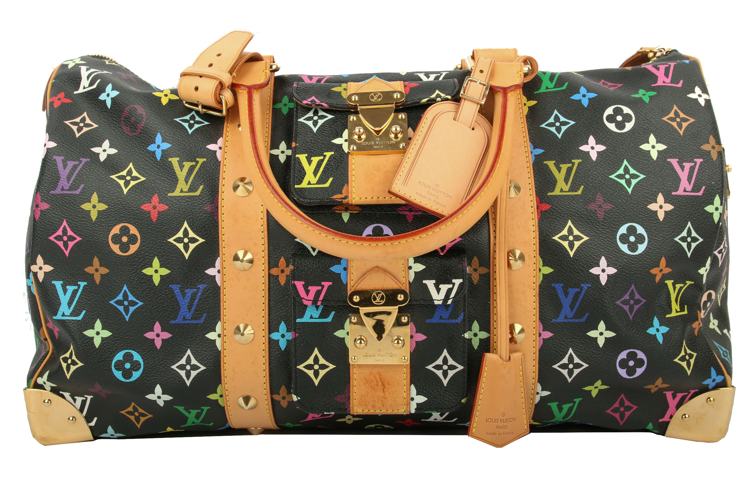 d503917fb8fb3 Louis Vuitton Keepall 45 Monogram Multicolor