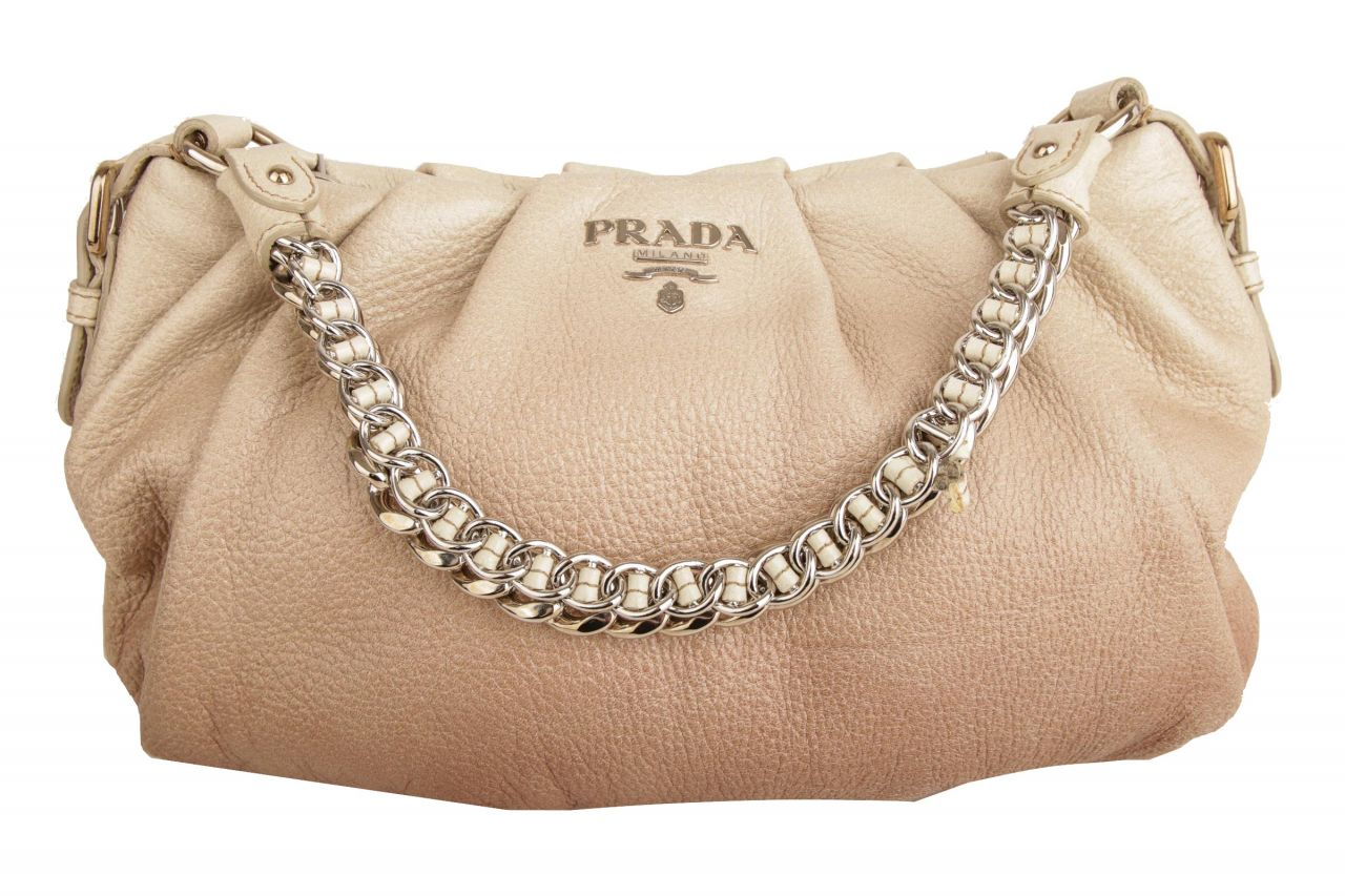 Prada Cervo Lux Chain Shoulder Bag Ombre