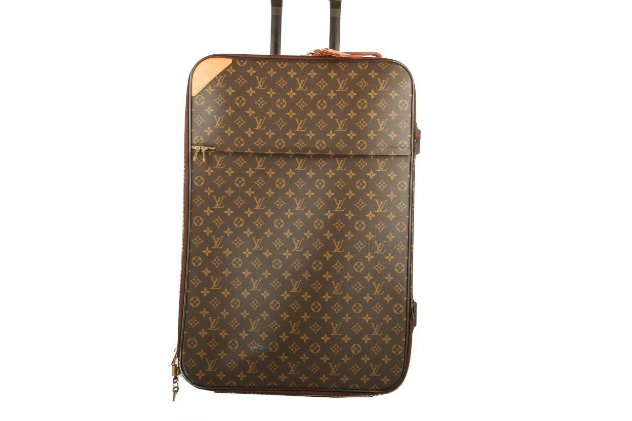 Louis Vuitton Suitcase Pégase 65 Monogram Canvas