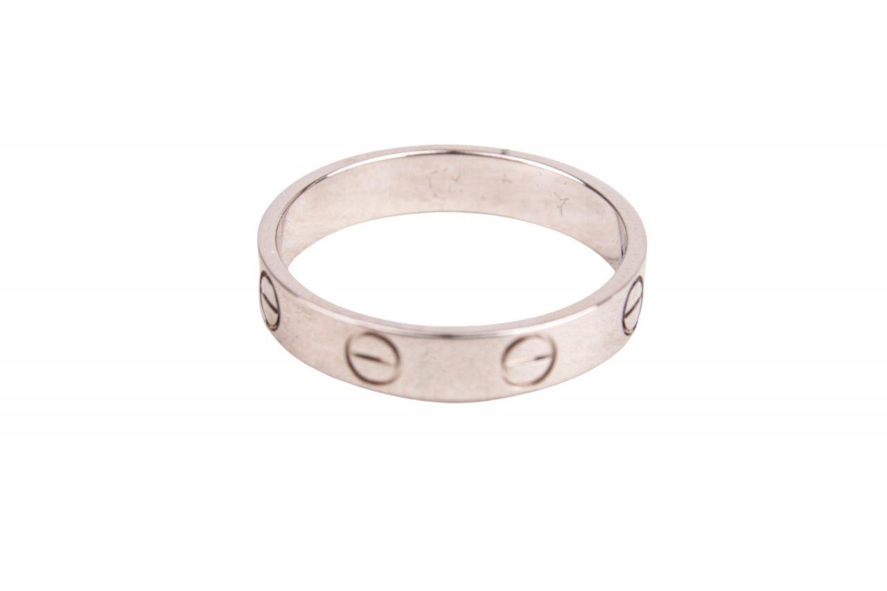 Cartier Love Ring Weißgold Gr. 51
