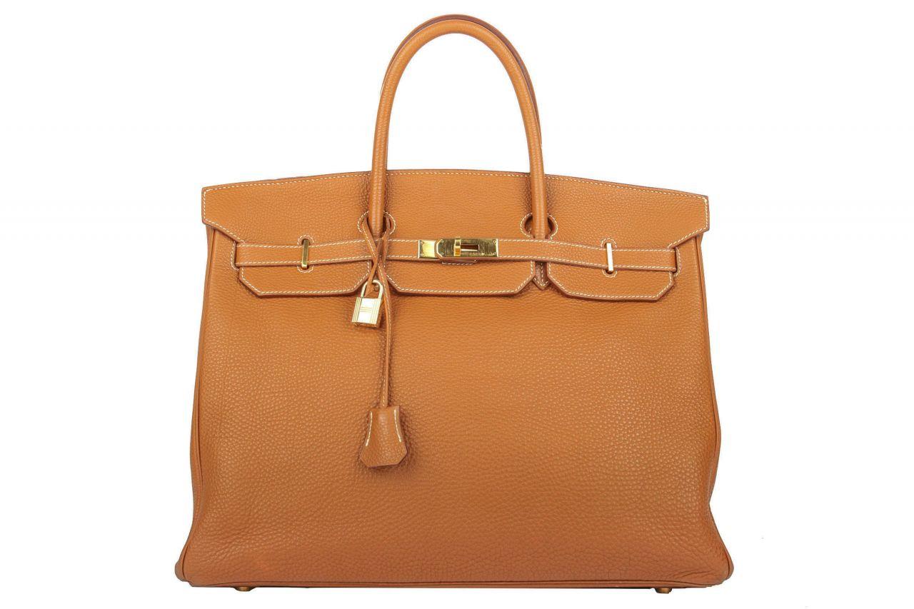 Hermès Birkin Bag 40 Gold Togo